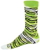 Red Lion Tie Dye Tiger Crew Socks - Closeout