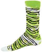Red Lion Tie Dye Tiger Crew Socks