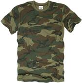 Rapid Dominance Woodland G.I. Camo Cotton T-Shirt