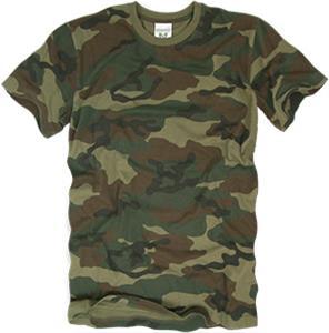 Rapid Dominance Woodland G.I. Camo Cotton T-Shirt