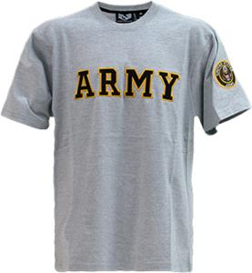 Rapid Dominance Applique Text Army Military Tees