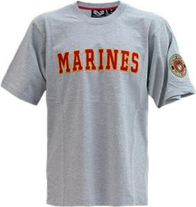 Rapid Dominance Applique Marines Military Tees