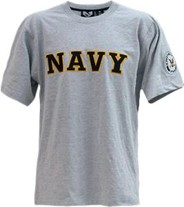 Rapid Dominance Applique Navy Military Tees