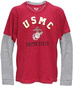 Rapid Dominance Highlight Double Layer Marines Tee
