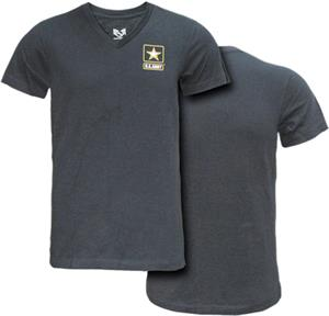 Rapid Dominance Army Military V-Neck Tee
