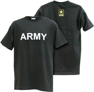 Rapid Dominance Army 'Text' Classic Military Tee