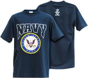 Rapid Dominance Navy Classic Military Tee