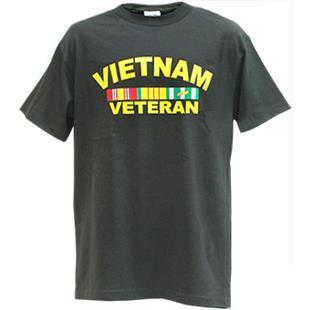 Rapid Dominance Vietnam Vet Classic Military Tee