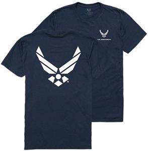 Rapid Dominance Air Force 'Wing' Military Tee