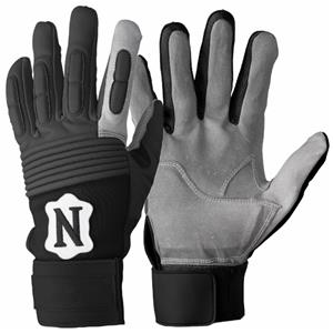 Neumann Youth Padded Lineman Football Gloves