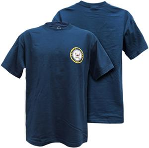 Rapid Dominance Navy Basic Military Tee