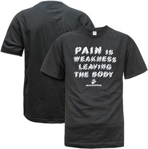 Rapid Dominance Marines Military Pain Tee