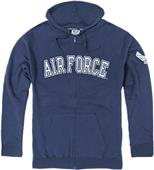 Rapid Dominance Air Force Full Zip Hoodies