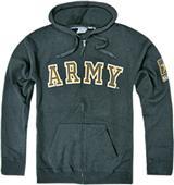 Rapid Dominance Army Full Zip Hoodies