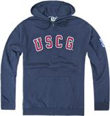 Rapid Dominance Coast Guard Full Zip Hoodies