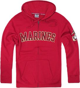Rapid Dominance Marines Full Zip Hoodies