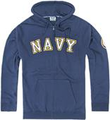 Rapid Dominance Navy Full Zip Hoodies