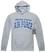 Rapid Dominance Grey Air Force Pullover Hoodies