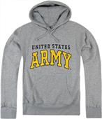 Rapid Dominance Grey Army Pullover Hoodies