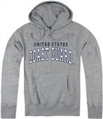 Rapid Dominance Grey Coast Guard Pullover Hoodies