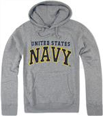 Rapid Dominance Grey Navy Pullover Hoodies