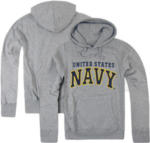 Rapid Dominance Grey Navy Pullover Hoodies