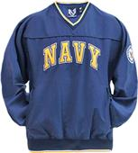 Rapid Dominance Microfiber Navy Pullover