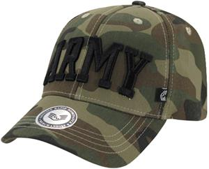 Rapid Dominance Army Text Camo Military Cap