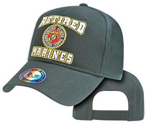 Rapid Dominance Retired Military Marines Cap