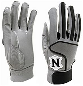 Adams Neumann Gripper Football Gloves-Closeout