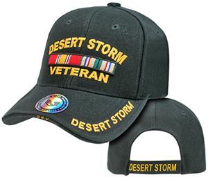Rapid Dominance Desert Storm Vet Military Cap
