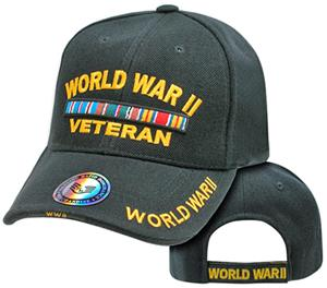 Rapid Dominance World War II Vet Military Cap
