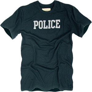 Rapid Dominance Basic Felt Police Tee