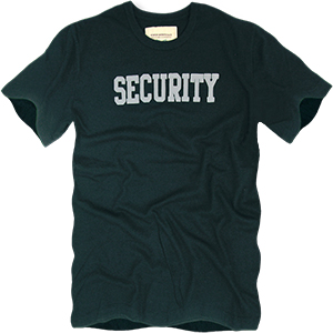 Rapid Dominance Basic Felt Security Tee