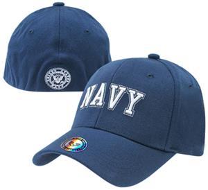 Rapid Dominance Navy FitAll Flex Cap