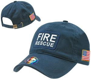Rapid Dominance Dual Flag Raid Fire Rescue Law Cap