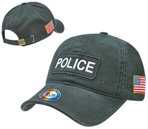 Rapid Dominance Dual Flag Raid Police Law Cap