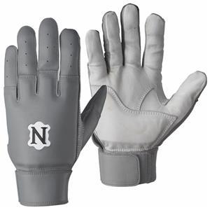 white lineman football gloves