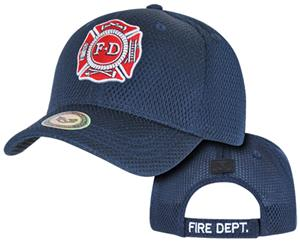 Rapid Dominance Air Mesh Public Safty Fire Dep Cap