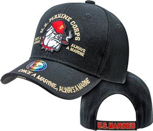 The Legend Bulldog Marines Military Cap
