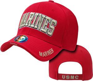 The Legend Marines Text Military Cap
