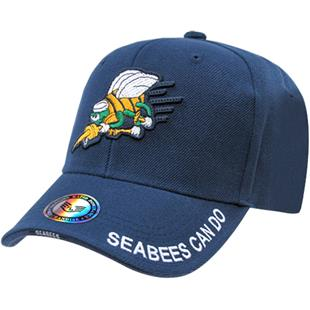 The Legend Navy Seabees Military Cap