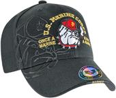 Shadow Bulldog Marines Military Cap