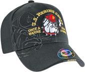 Shadow Bulldog Marines Military Cap
