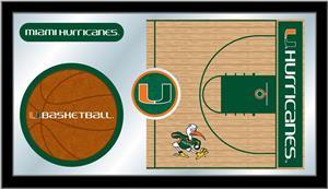 Holland University of Miami (FL) Basketball Mirror