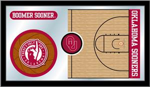 Holland Oklahoma University Basketball Mirror