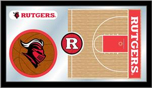 Holland Rutgers University Basketball Mirror