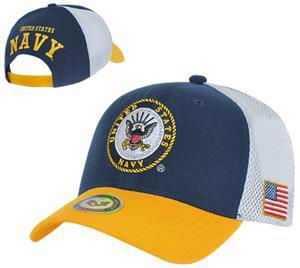 Rapid Dominance Deluxe Mesh Navy Military Cap