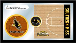 University Southern Mississippi Basketball Mirror