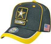 Rapid Dominance Piped Army Military Cap
